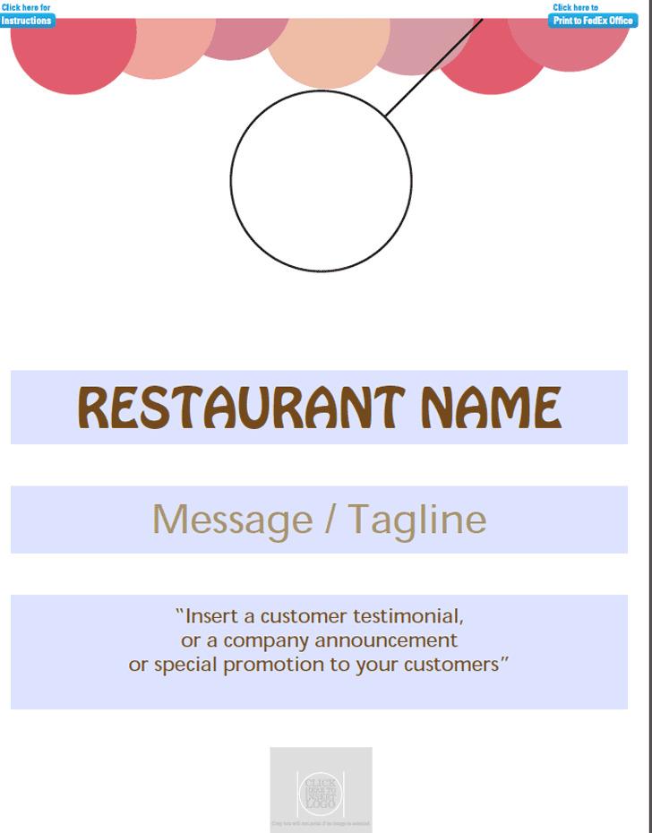 Restaurant Door Hanger Template Sample Wedding Door Hanger Template
