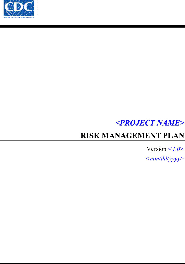 Risk Management Plan Template Download Free  Premium Templates - risk management plan template