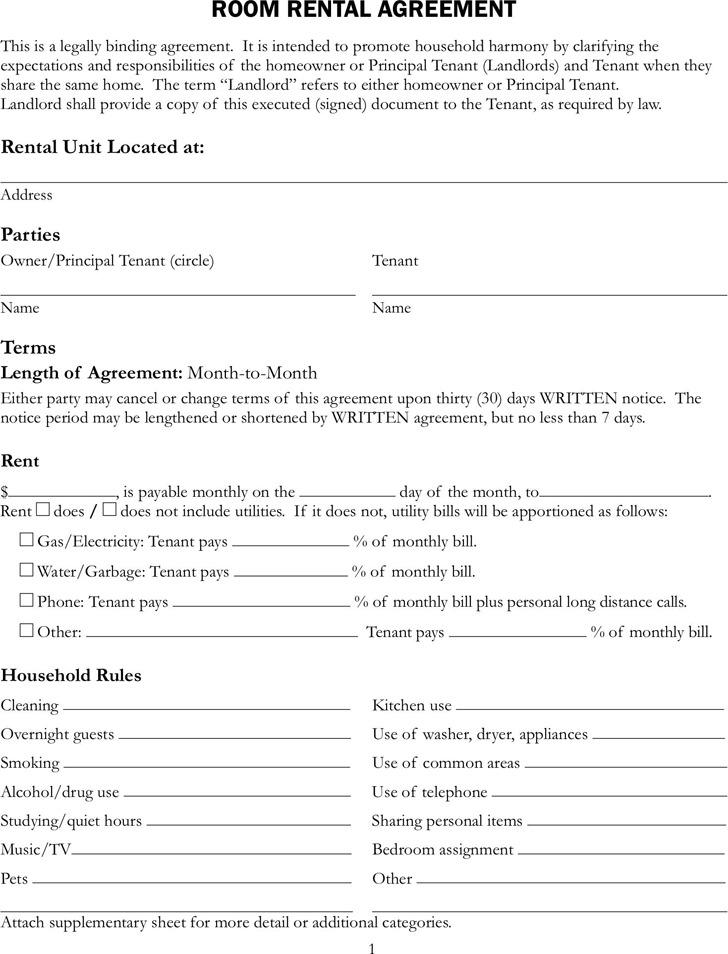 Rental Lease Best Rental Agreements Images On Rental Property Rent - lease agreement template in word