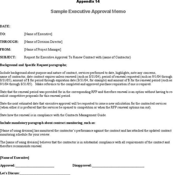 Executive Memo Template Download Free  Premium Templates, Forms