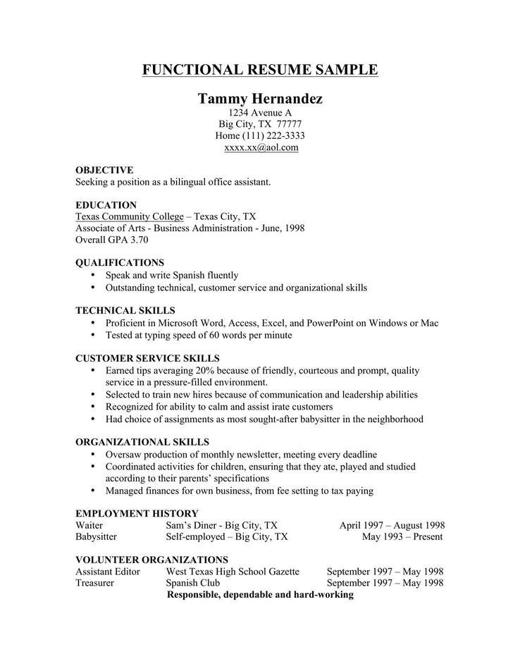 resume template microsoft word fully editable free resume - free functional resume template