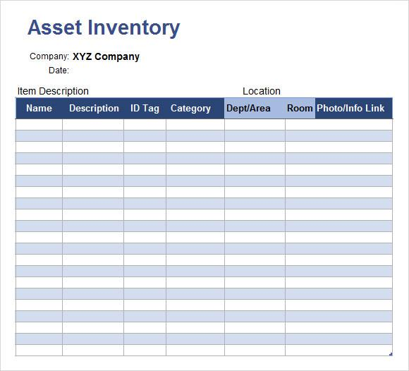 Inventory Spreadsheet Templates Download Free  Premium Templates