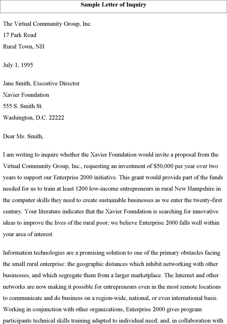 Product sales letter sample nfgaccountability – Sample Letter of Proposal for Product