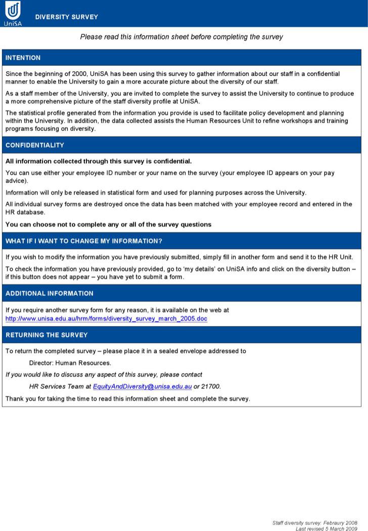 Sample HR Survey Forms - hr evaluation form