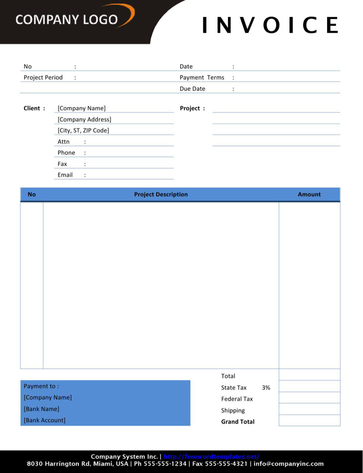 Download Invoice Template Self Employed rabitahnet - free invoice template for excel