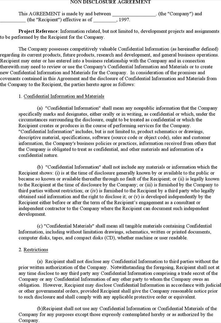 software development agreement template template
