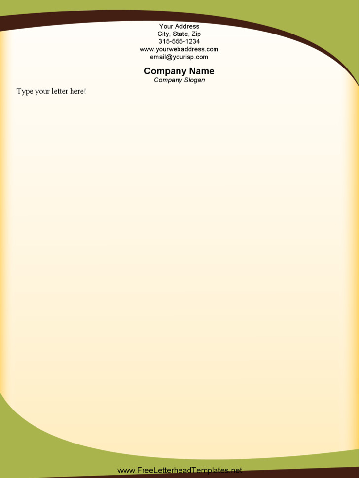 31+ Word Letterhead Templates Free Download