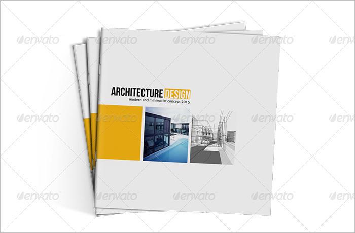 Architecture Brochure Template Download Free  Premium Templates