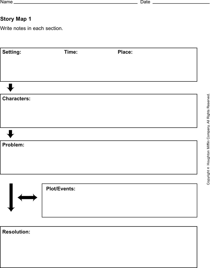 Story Map Template Download Free  Premium Templates, Forms - story map template