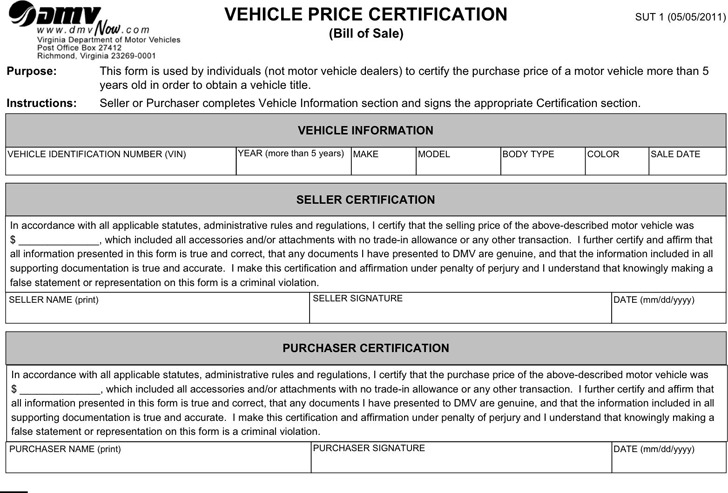 bill of sale for vehicle - Acurlunamedia