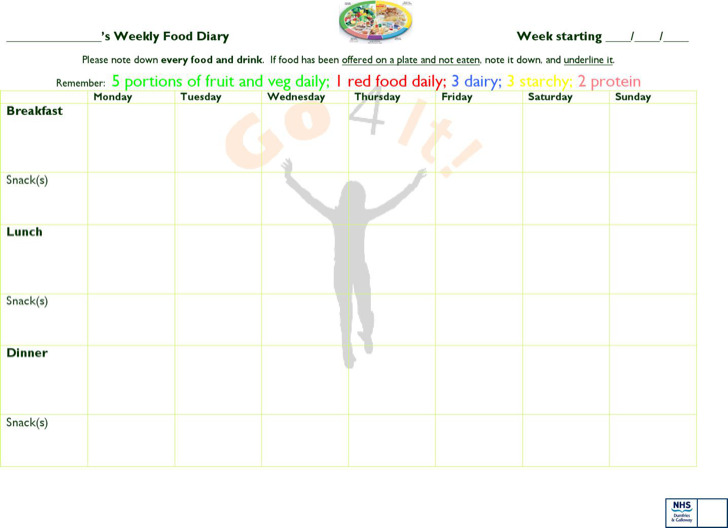 Ms Word Diary Template  Diary Word Template