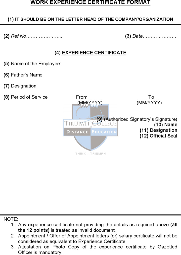 experience certificate templates - 28 images - experience - experience certificate templates