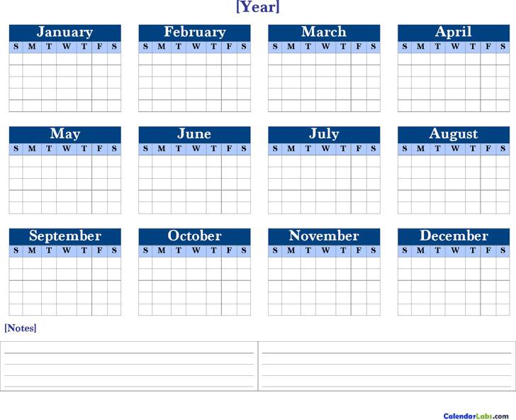 sample annual calendar tutornowinfo - annual calendar template