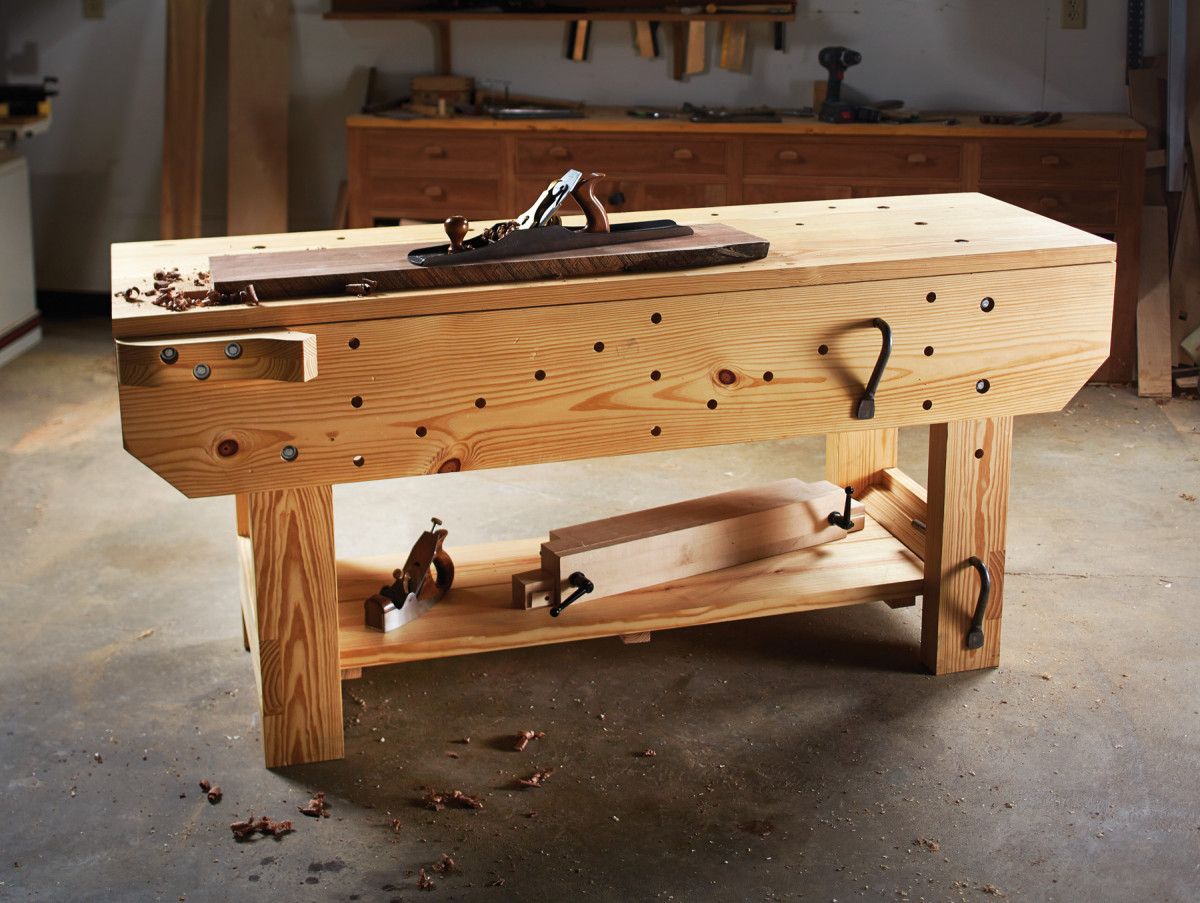 Knockdown English Workbench Popular Woodworking Magazine