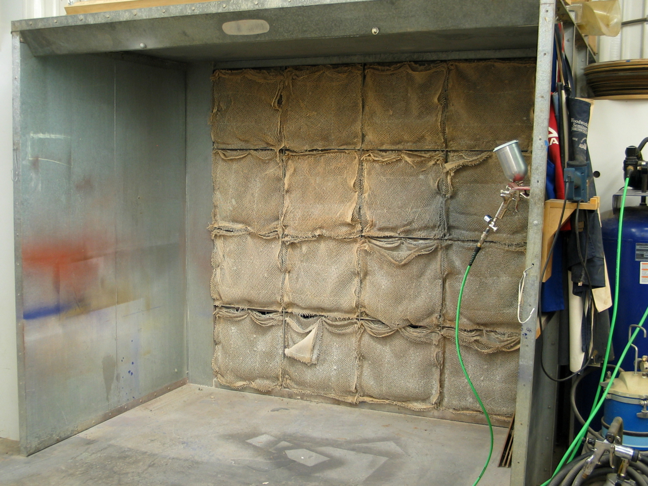 Spray Booth For A Small Shop Popular Woodworking Magazine