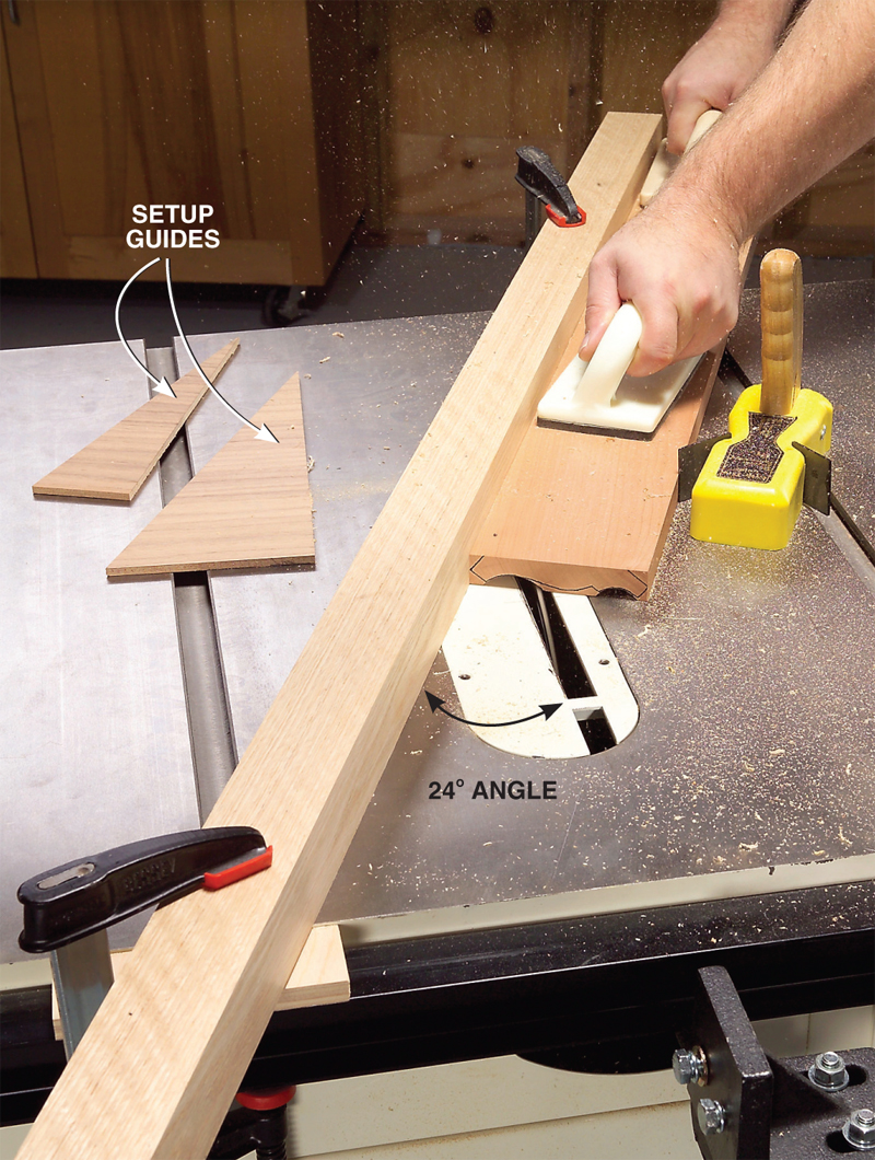 Aw Extra 1 10 13 Make Crown Molding On The Tablesaw Popular Woodworking Magazine