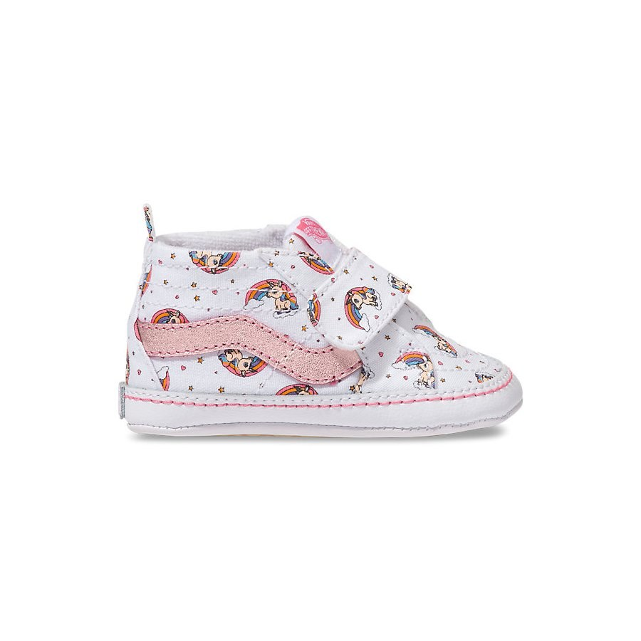 Newborn Shoes Vans Sk8 Hi Crib Shoe Unicorn 3