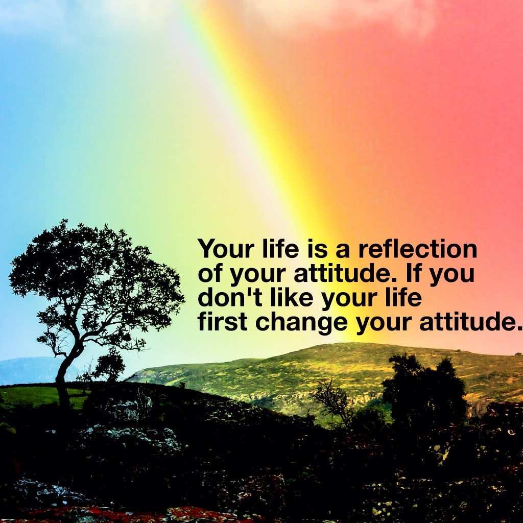 Positive Vibes Quotes Wallpaper Your Attitude Affects How Long You Will Live