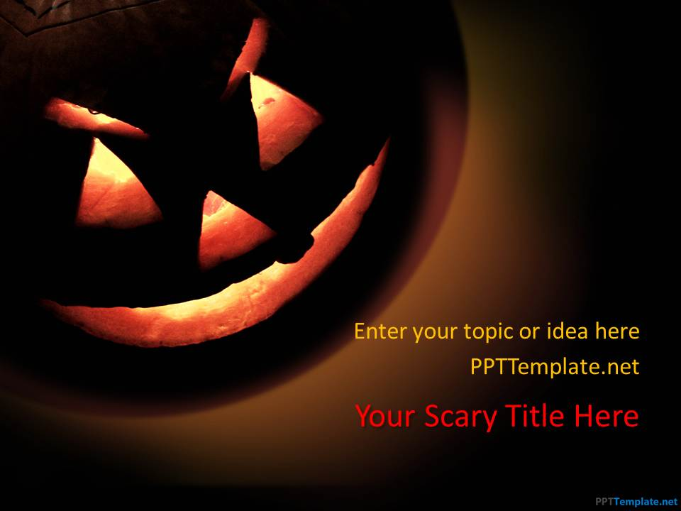 Free Scary PPT Templates