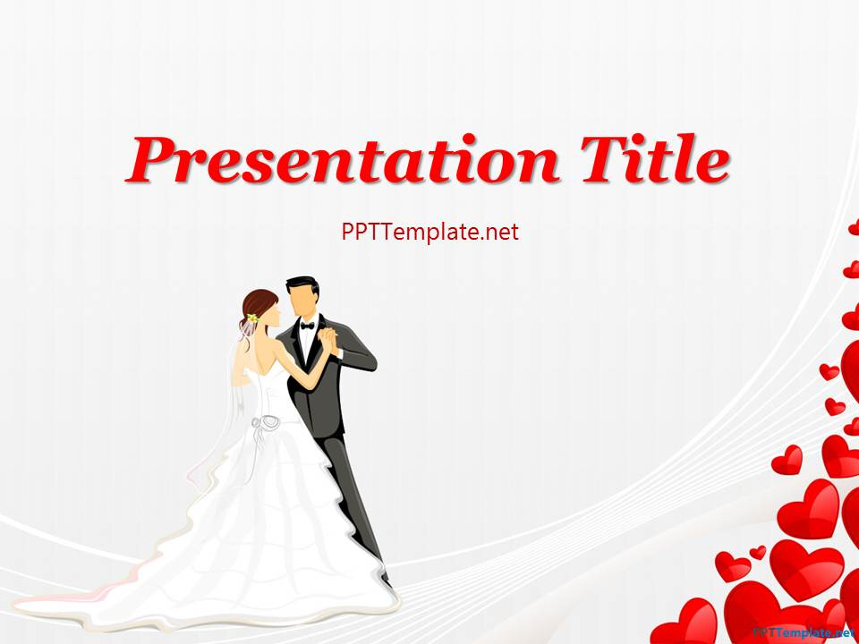 Free Wedding Dance PPT Template