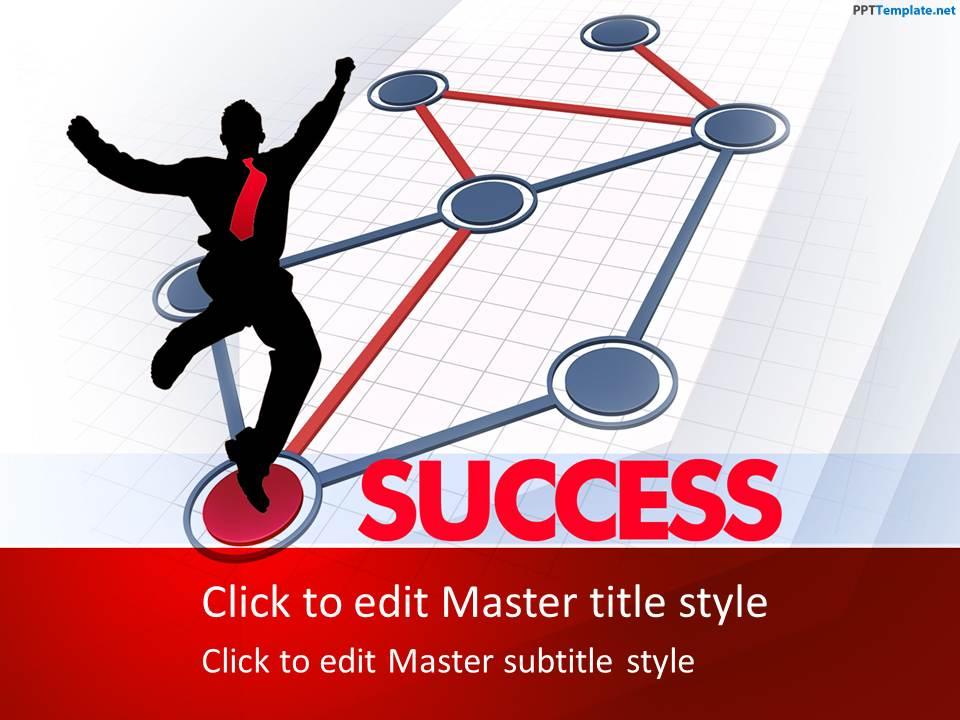 Free Success PPT Template - sports background for powerpoint