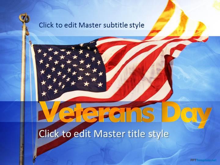 Free Veterans PPT Template