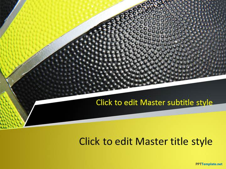 Free Basketball Play PPT Template - basketball powerpoint template