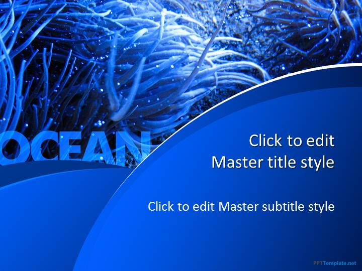 Free Blue Ocean PPT Template