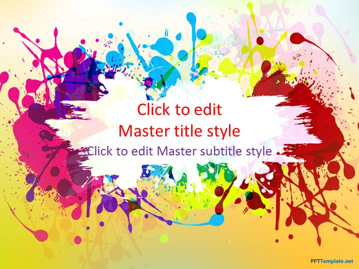 Free Color PPT Template
