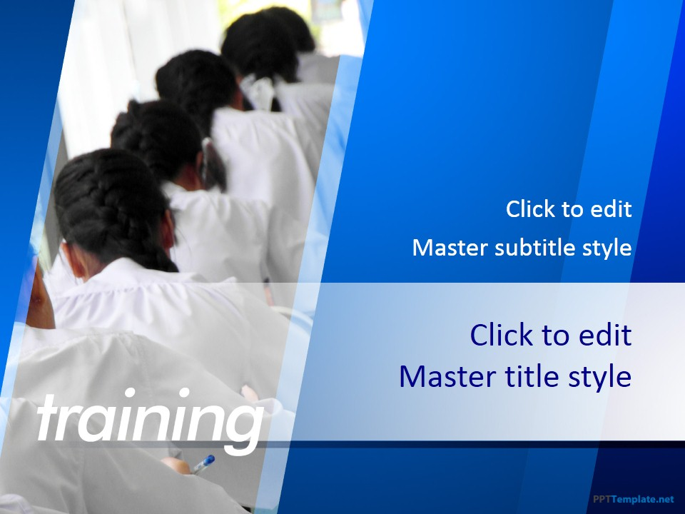 Free Training PPT Template