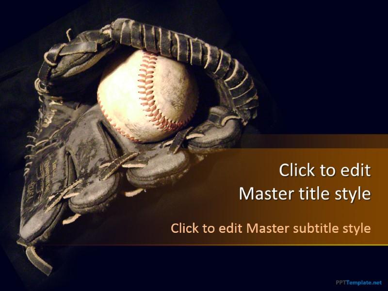 Free Baseball PPT Template