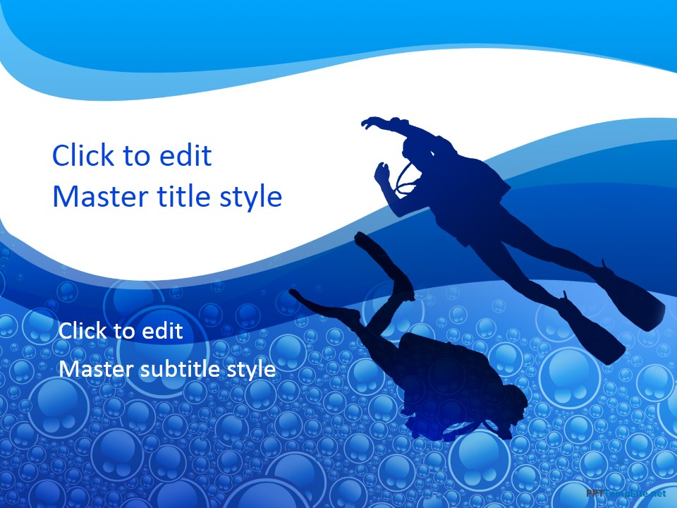 Free Diving PPT Template