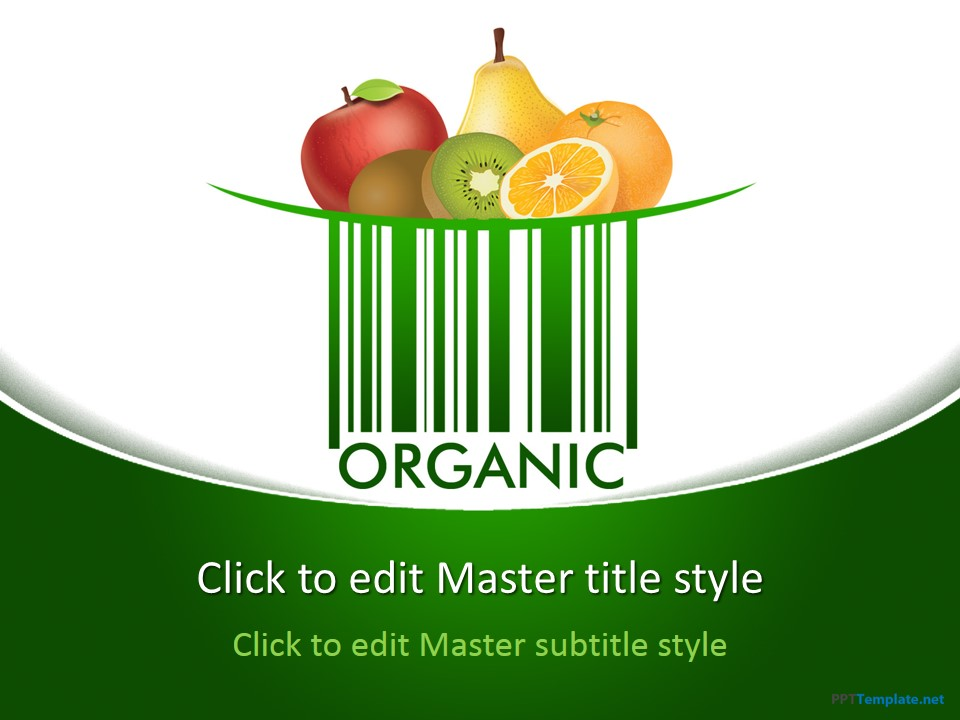 Free Organic PPT Template