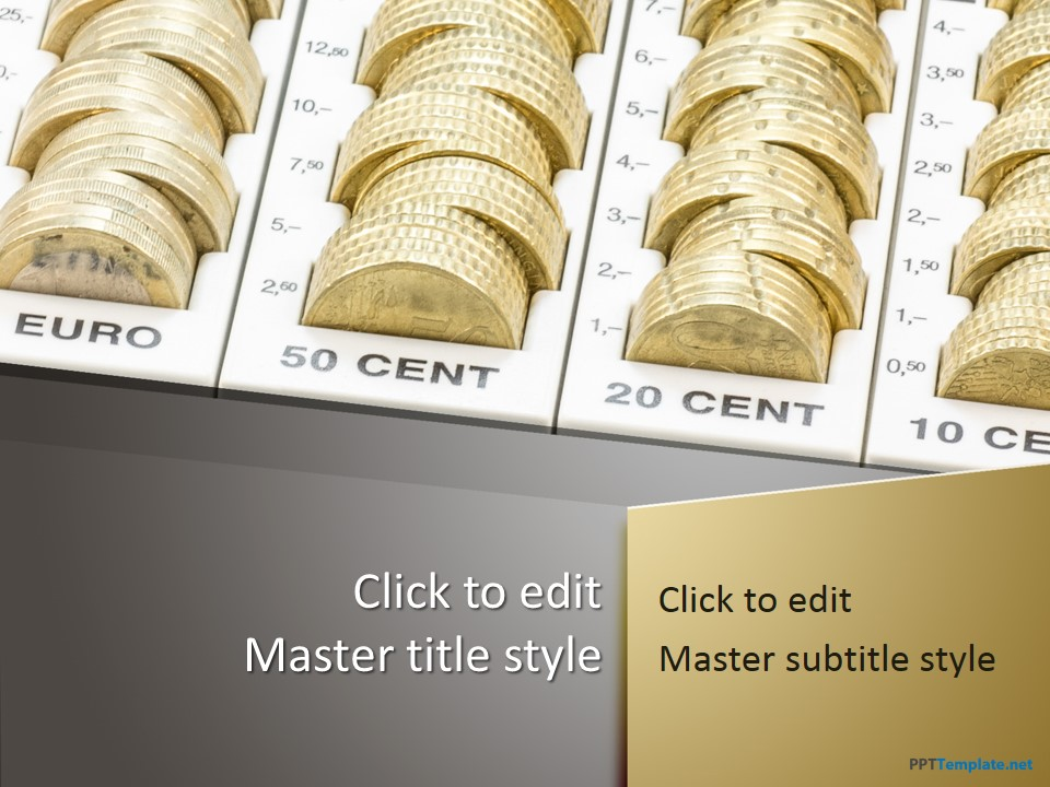 Free Money Cents PPT Template - free money templates