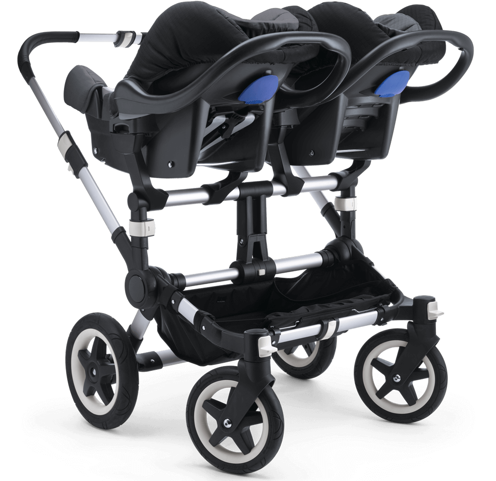 Double Pushchair Bugaboo Bugaboo Donkey 2 Twin Complete Strollers