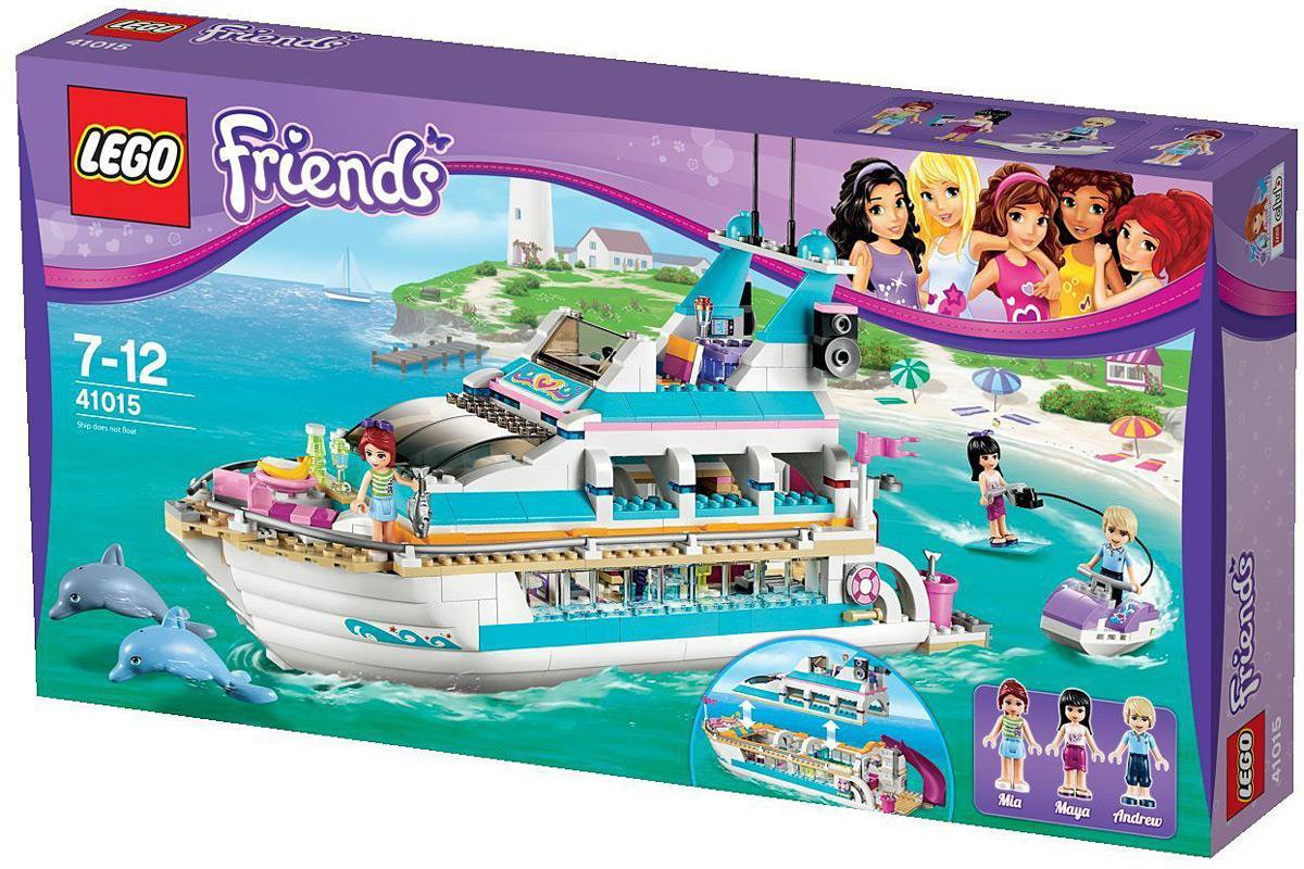 Lego Friends Badezimmer Lego Friends Yacht Baukasten 41015