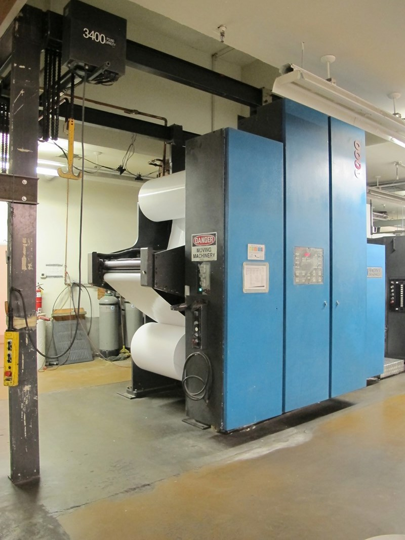 Web Offset Printing Machine Used Harris M300m 6 Color Heatset Web Offset Printing Press Year