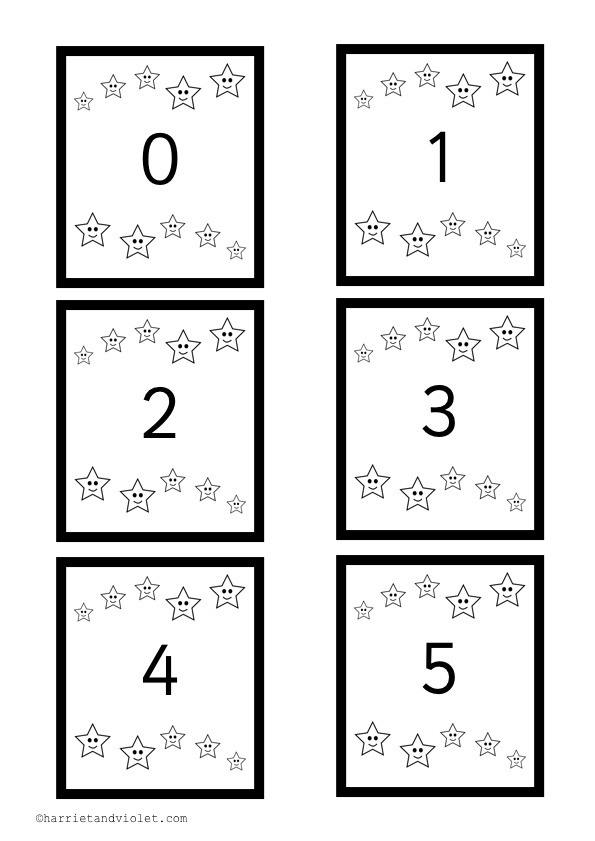 Black and White Printables - Page 4 - Free Teaching Resources
