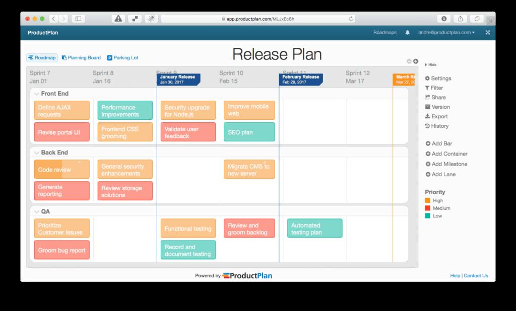 Software Release Management Plan Template