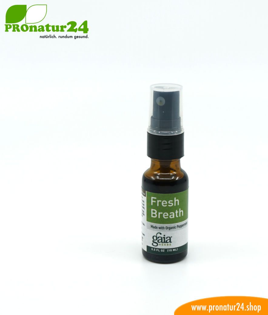 Bad Shop 24 Fresh Breath Mouth Spray For Bad Breath Peppermint 15 Ml