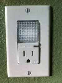 LED Nightlight Outlet by Legrand Pass & Seymour