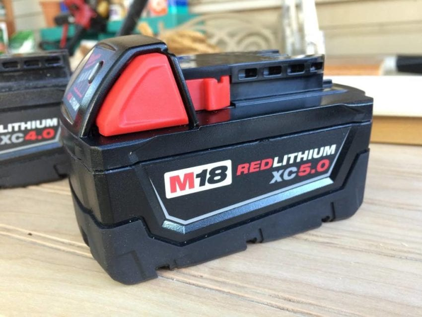 Milwaukee M18 Battery Seeing Red Milwaukee M18 Redlithium Batteries Pro Tool Reviews