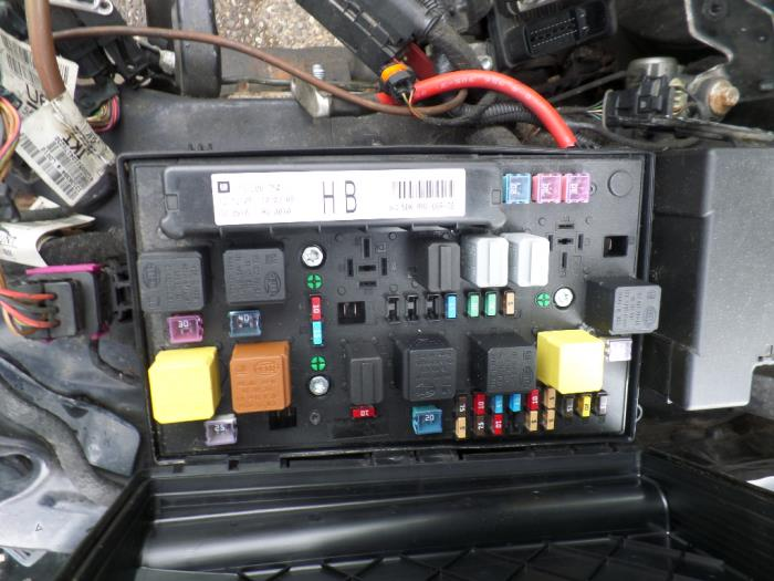 Opel Astra H Fuse Box Wiring Diagram