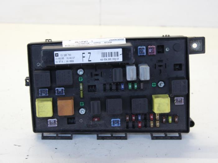 Used Opel Astra Fuse box - 5DK00866828 - Gebr Opdam BV