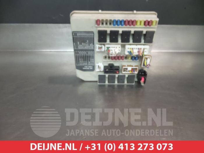 Used Nissan Micra (K12) 14 16V Fuse box - VDeijne JapAuto