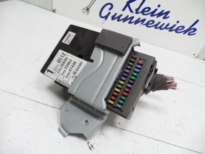 Used Renault Espace (JK) 20 Turbo 16V Grand Espace Fuse box