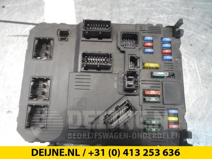 Fuse Box For Citroen Berlingo - Adminddnssch \u2022