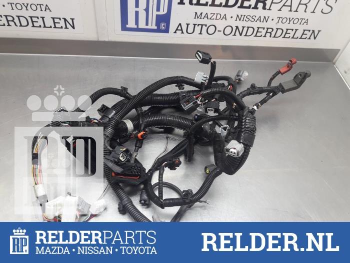 Used Toyota Aygo (B10) 10 12V VVT-i Wiring harness - RELDER PARTS