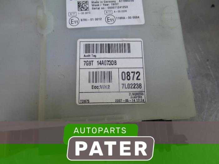 Used Ford S-Max (GBW) 20 TDCi 16V 140 Fuse box - 7G9T14A073DB