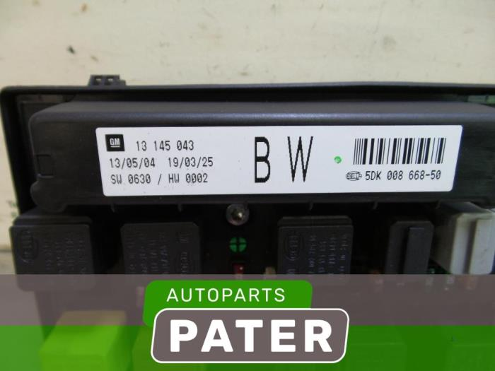 Used Opel Astra H (L48) 16 16V Twinport Fuse box - 5DK00866850